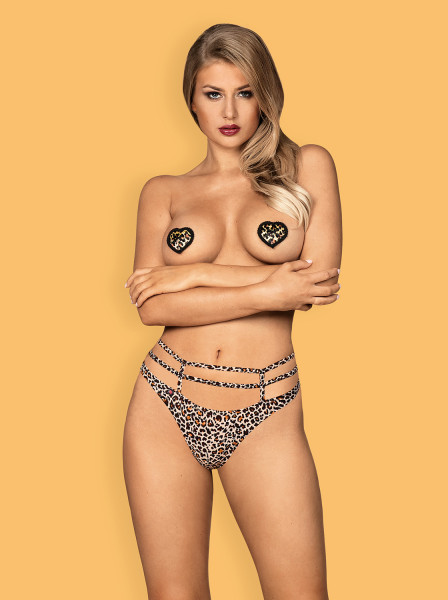 Sexy Nipple Covers in Leopard