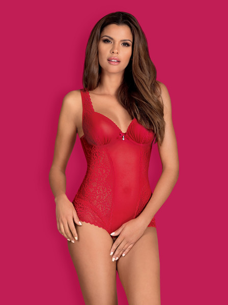 Rouge Crotchless Boby von Dessoustraum